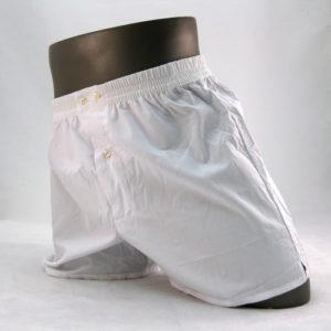effen witte boxershort van het merk McAlson.