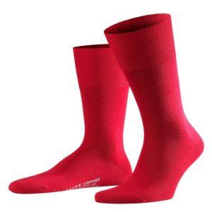 Rode Falke airport sokken.
