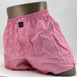 effen roze wijde boxershort van het merk Mcalson