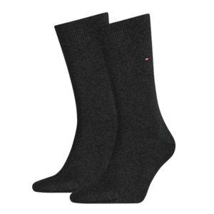 Tommy Hilfiger 2-pack Sokken Antraciet