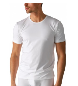 Mey heren T-shirt ronde hals- wit dry cotton 46002