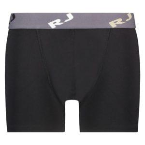 RJ microfiber pure color heren boxershort - Zwart
