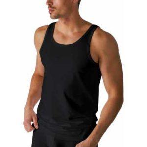 Mey heren hemd zwart - Dry cotton 46000