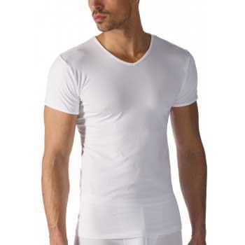 Mey heren T-shirt V- hals-wit - software