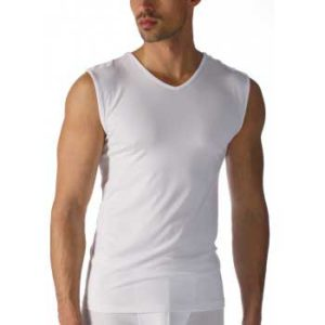 Mey heren shirt mouwloos -wit - software