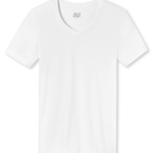 Schiesser Long Life Soft T-shirt V-neck - Wit