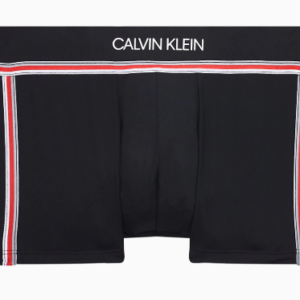 Calvin Klein heren Lowrise Trunk Microvezel - Zwart