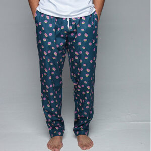 Pockies heren pyjamabroek- donuts