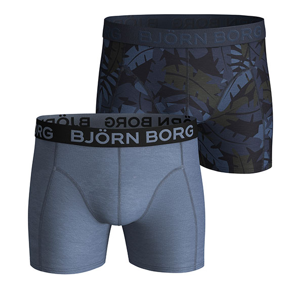 Björn Borg Jungle print 2-pack boxershorts in blauw