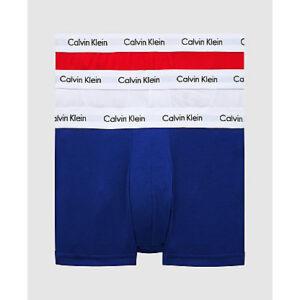 Calvi Klein boxershorts, low rise trunk- rood-wit-blauw