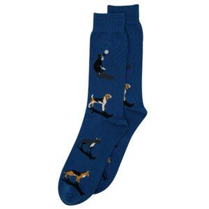 Alfredo Gonzales Heren Sokken honden blauw