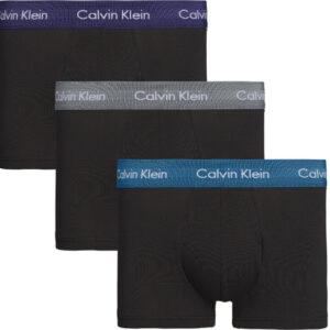 Calvin Klein 3-pack boxershorts, 'low rise'- zwart SZM