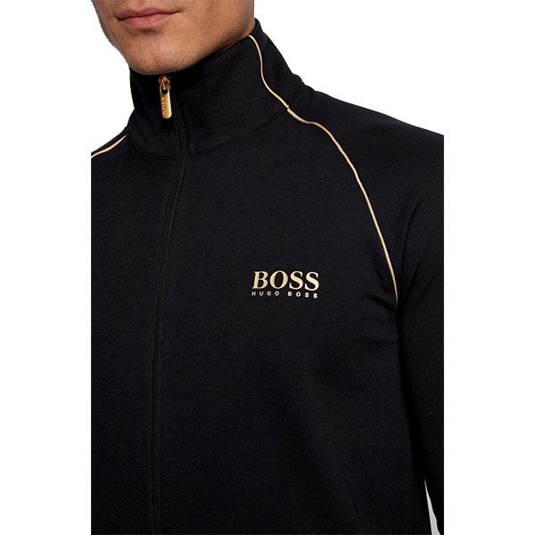 Hugo Boss lounge-jogging set zwart-goud