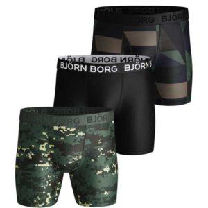 Björn Borg microvezel 3-pack boxershorts woodland
