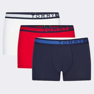Tommy Hilfiger 3-pack boxershorts rood wit blauw