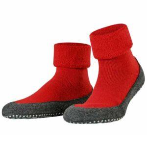 falke cosy shoe rood