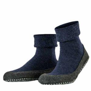 falke cosy shoes blauw
