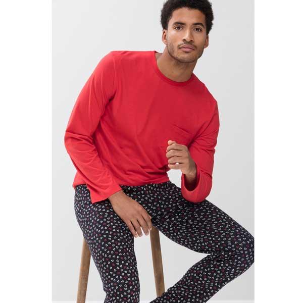 mey pyjamaset lang fiesta red