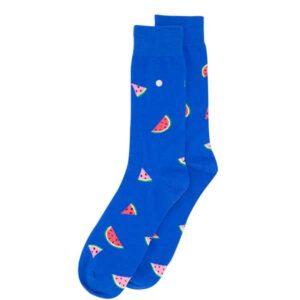 alfredo gonzales sokken met meloenen in het blauw