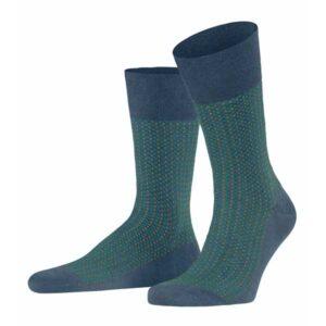 falke uptown tie sokken atlantic